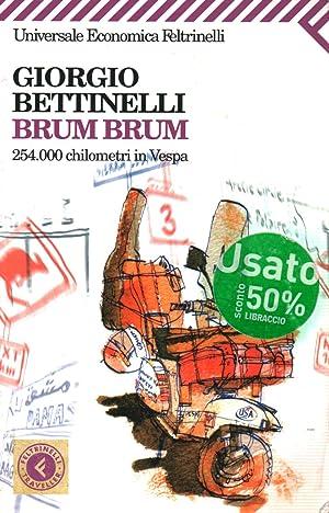 Immagine del venditore per Brum brum 254.000 chilometri in Vespa venduto da Di Mano in Mano Soc. Coop