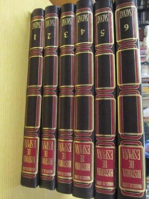 HISTORIA DE ESPAÑA (6 TOMOS): MARQUÉS DE LOZOYA