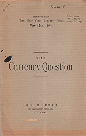 The Currency Question