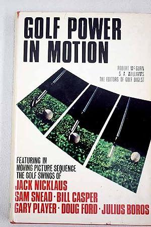 Golf power in motion: McGurn, Robert; Williams,