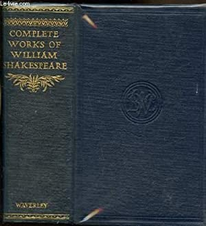 The complete works of William Shakespeare comprinsing: William Shakespeare