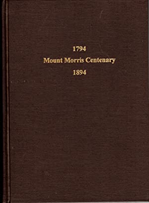 Seller image for 1794 ? 1894 Centennial Celebration, Mt. Morris, N.Y., August 15, 1894 for sale by PERIPLUS LINE LLC