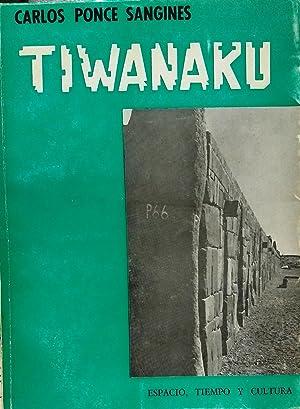 Tiwanaku. Descripción sumaria del Templete Subterráneo: Ponce, Sanginés, Carlos