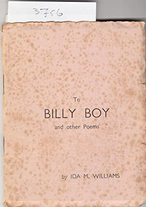 To Billy Boy and Other Poems.