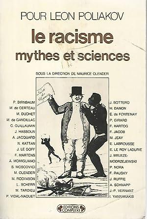 Le racisme mythes et sciences poliakov: Leon Poliakov