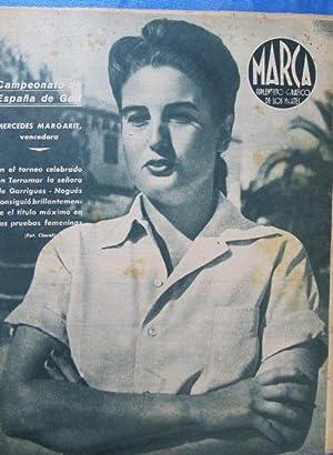 Imagen del vendedor de MARCA. SUPLEMENTO GRÁFICO DE LOS MARTES. AÑO II. 13 DE JULIO DE 1943. NUM. 33. GOLF, BOXEO. (Coleccionismo Deportivo/Revistas y Periódicos Deportivos/Marca) a la venta por EL SABER SÍ OCUPA LUGAR