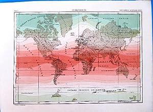 LÁMINA. CLIMATOLOGÍA. ENCICLOPEDIA ILUSTRADA SEGUÍ, 1905/10'S (Coleccionismo