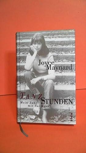 Tanzstunden. Mein Jahr mit Salinger.: Maynard, Joyce: