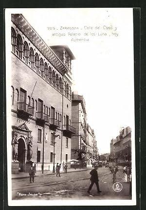 Postal Zaragoza, Calle del Coso y antiguo