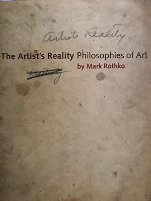 Artists Reality,The
