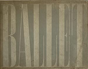 BALLET: 104 PHOTOGRAPHS BY ALEXEY BRODOVITCH: BRODOVITCH, ALEXEY). Brodovitch,
