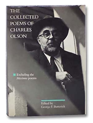 Immagine del venditore per The Collected Poems of Charles Olson, Excluding the Maximus Poems venduto da Yesterday's Muse, ABAA, ILAB, IOBA