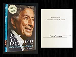 Just Getting Started (SIGNED 1st Ed): Bennett, Tony