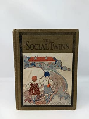 "THE SOCIAL TWINS : THE DAINTY BOOK OF ETIQUETTE; ""A Just Right Book"""