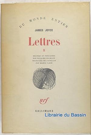 Bild des Verkäufers für Lettres II zum Verkauf von Librairie du Bassin