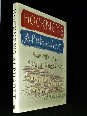 Hockney's Alphabet *First Edition SIGNED by 18: HOCKNEY, David; with