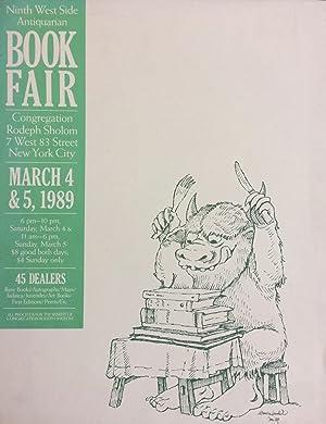 9th West Side Antiquarian Book Fair; March: SENDAK, Maurice