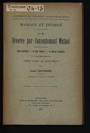Mariage et divorce: droit romain et droit juif