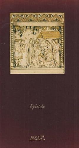 Epistole. Nuovo Testamento Con il trittico degli: Anonimo