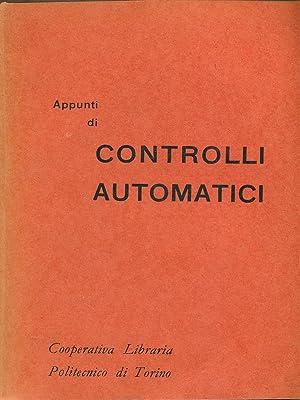 Appunti di controlli automatici: aa.vv.