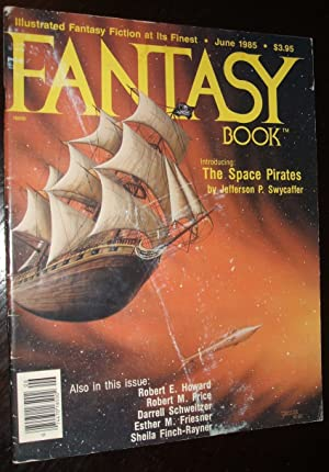 Fantasy Book June 1985 Illustrated Fantasy Fiction: Edited by Nick