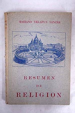 Resumen de religión: Villapun Sancha, Mariano