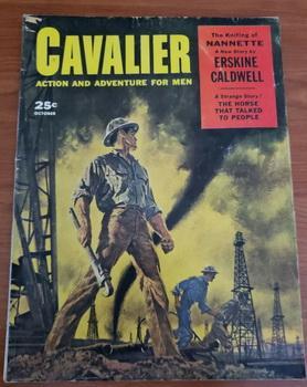 CAVALIER October 1957 - Barye Phillips, Richard: Andrew St. George;