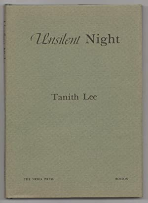 Unsilent Night by Tanith Lee (First Edition) Signed