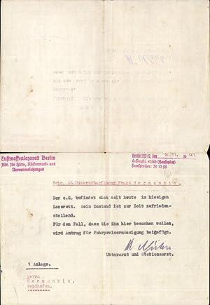 579333,Waffen SS Waidhofen an der Ybbs Luftwaffenlazarett