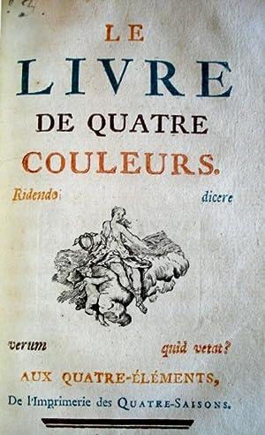 LE LIVRE A LA MODE [junto con]: Caraccioli, Louis-Antoine]