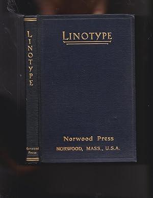 SPECIMEN BOOK OF LINOTYPE FACES
