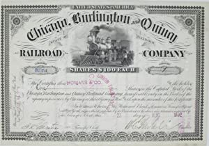 Chicago, Burlington and Quincy Railroad Company: Stock
