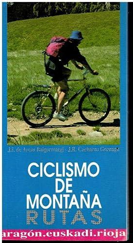 Imagen del vendedor de CICLISMO DE MONTAÑA. RUTAS. ARAGÓN, EUSKADI, RIOJA. a la venta por angeles sancha libros