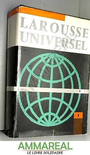 LAROUSSE UNIVERSEL EN 2 VOLUMES. TOME 1