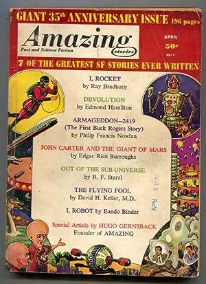Amazing Stories April 1961- I Robot- Buck