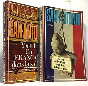 Image du vendeur pour Y A T Il Un Francais Dans La Salle ? + Les clefs du pouvoir sont dans la boîte à gants --- 2 livres mis en vente par crealivres