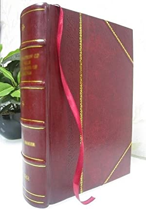 Poesias de Carlos Walker Martínez. (1868)[Leather Bound]: Walker Martínez Carlos
