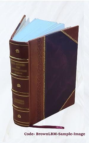 Baukunde des Architekten Volume v.1:1 ( 1903)[Leather: Verband Deutscher Architekten-