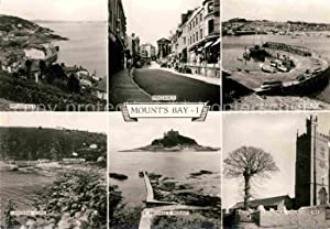 Postkarte Carte Postale Penzance Newlyn Mount s Bay Mousehole Paul Church
