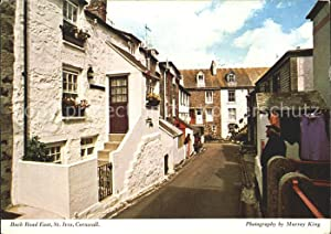 Postkarte Carte Postale St Ives Cornwall Back Road East