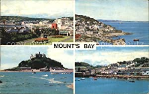 Postkarte Carte Postale St Ives Cornwall Mounts Bay St Anthony Gardens St Michaels Mount Mousehol...