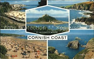 Postkarte Carte Postale Marazion Cornwall St Michaels Mount St Ives The Lizard Coast Lands End Pr...