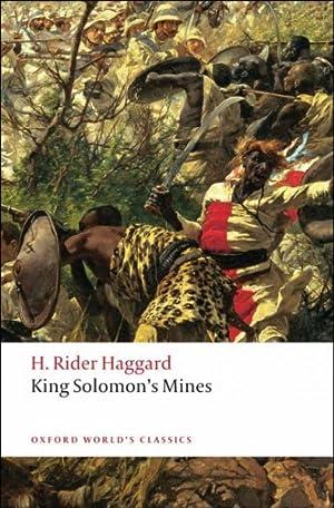 King Solomon's Mines: Haggard, H Rider;