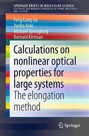 Calculations on nonlinear optical properties for large: Gu, Feng Long;