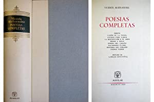 Poesías Completas. [Ámbito. Pasión de la tierra.: ALEIXANDRE, Vicente.