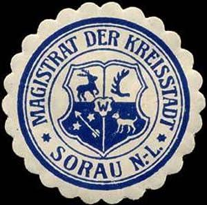Siegelmarke Magistrat der Kreisstadt - Sorau Nieder