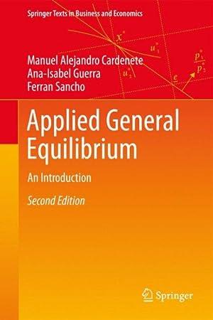 Imagen del vendedor de Applied General Equilibrium : An Introduction a la venta por GreatBookPrices