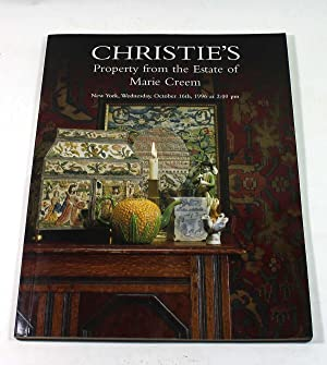 Property from the Estate of Marie Creem: Christie's