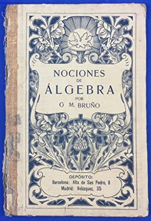 Nociones de álgebra: G. M. Bruño