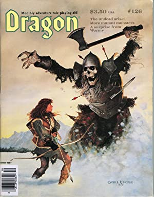 Dragon Magazine Issue #126 Vol. XII, No.: Cook, Mike (Publisher)